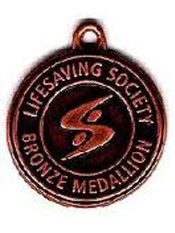 bronze medallion