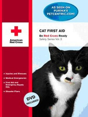 Cat First Aid Manual With DVD