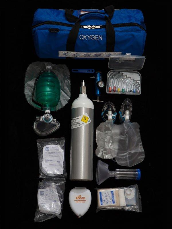 First Responder Oxygen Kit