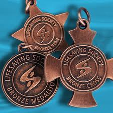 Bronze Cross Bronze Medallion Bronze Star Right Reaction